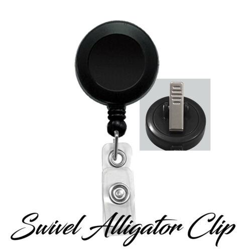 Retractable Badge Reel Name ID Pull Holder Radiology Technician Radiologist
