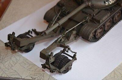 Skif 224-1//35 T-55C1 /'Bublin/' With KMT-6 Mine Sweeper Plastic Nodel Kit