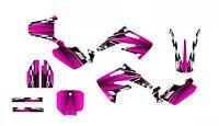 Cr85 Graphics For Honda 2003-2013 Dirt Bike Sticker Kit 2500 Hot Pink