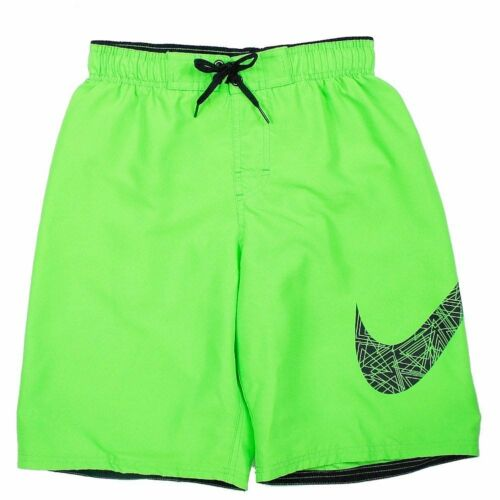 Nike Green Shorts Core Poison Solid Boy's Large corti Volley Swoosh Pantaloncini Uq0A5wn