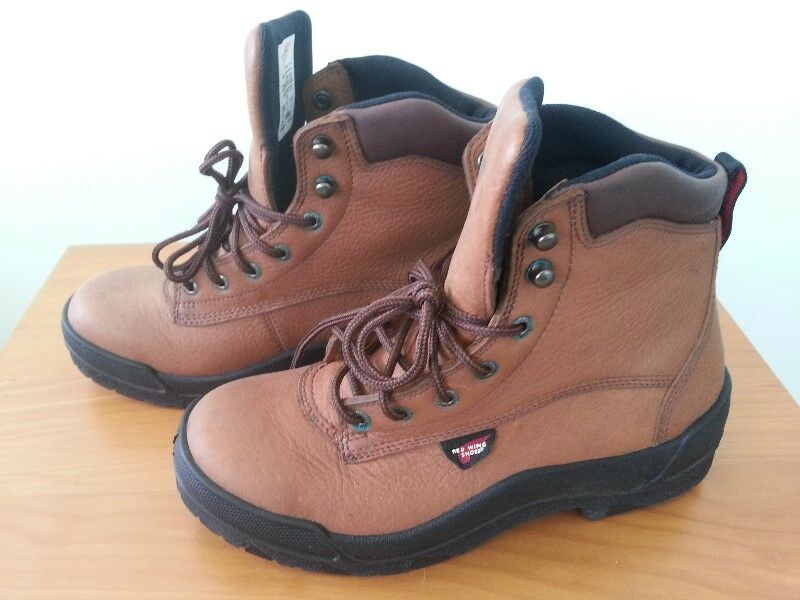 Red Wing Steel-Toe (EH) work boots