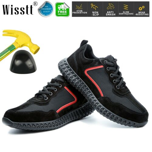 Men/'s Safety Shoes Women/'s Waterproof Boots Steel Toe Sports Trainers Work Shoes