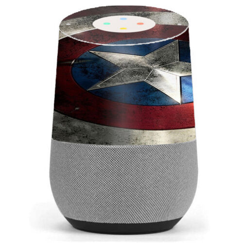 Skin Decal Vinyl Wrap for Google Home stickers skins cover// America Sheild