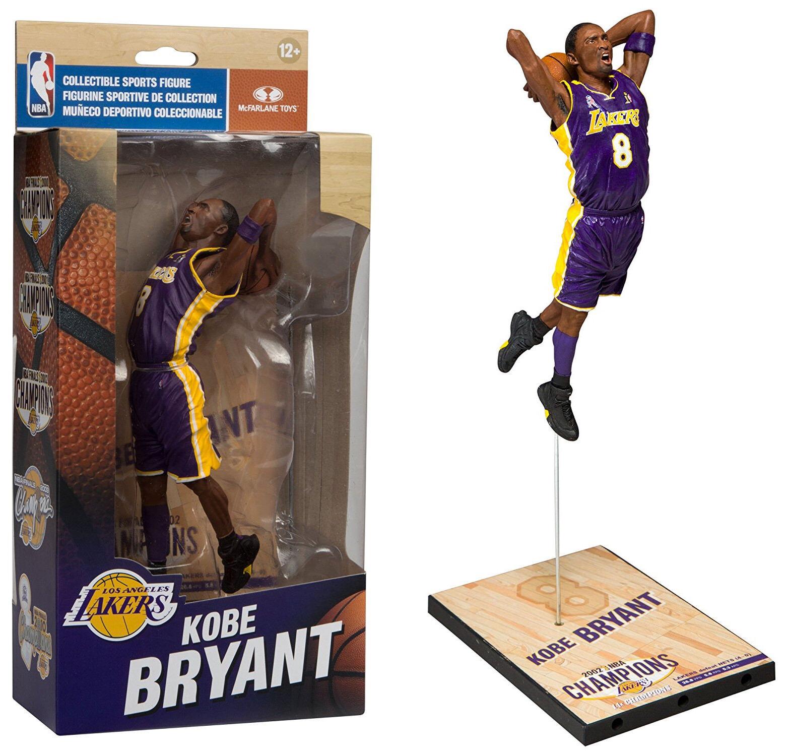 McFarlane giocattoli NBA  KOBE BRYANT (2002) cifra  Limited  Ed. Championship Series  prezzo all'ingrosso e qualità affidabile