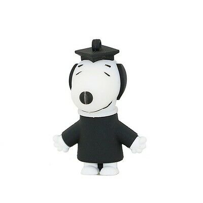 Novelty Graduation Snoopy Dog Cartoon Comic 4GB USB Flash Drive 2.0 Memory Stick