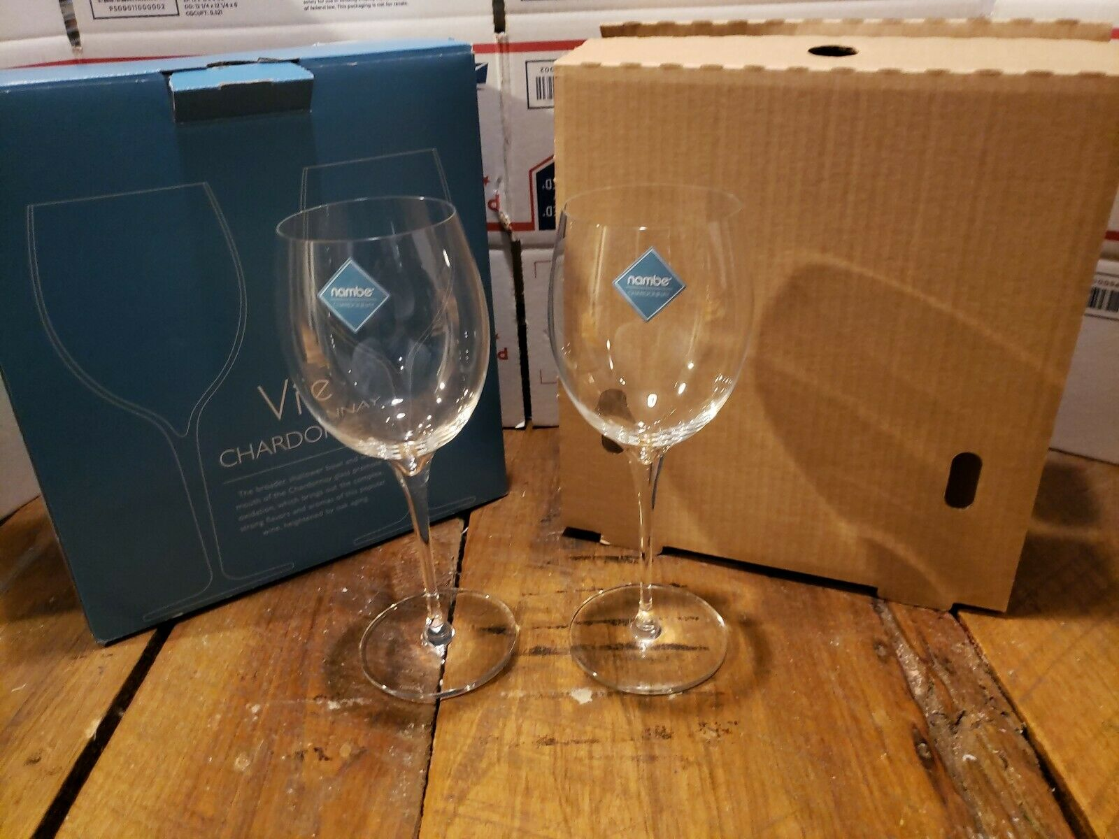 Nambé Vie Charfemmesy Verre à vin, set de 2 (MT0950)