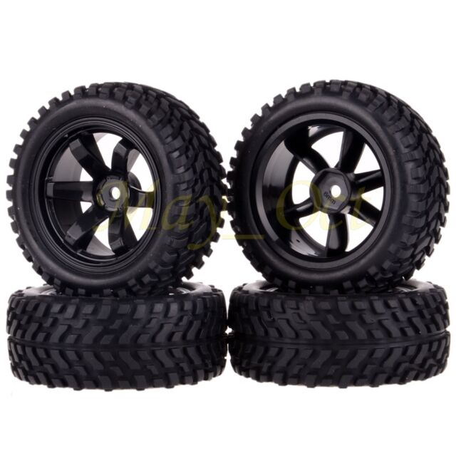 4x RC Pull Rally 1:10 Car On Road OR 1:16 Off-Road Wheel Rim Tyre,Tires 701-7004