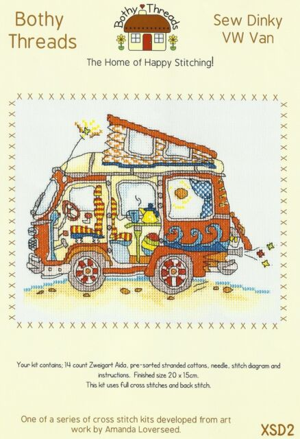 Bothy Threads VW FUN Cross Stitch Kit