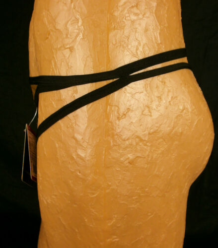 Doreanse Mens Party Metallic Gold String Thong Small NIP 1120IM AL230