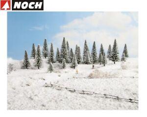 NOCH-H0-TT-26828-Schneetannen-25-Stueck-5-14-cm-hoch-NEU-OVP