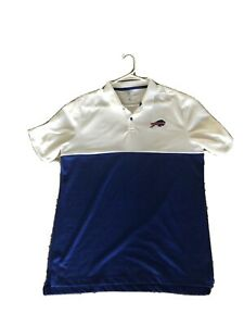 giratorio cruzar Amedrentador  Nike Buffalo Bills Golf Polo Shirt Mens Large NWOT | eBay