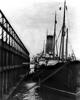 8x10 Photo: Ss Carpathia At Dock In York City After Rms Titanic Disaster