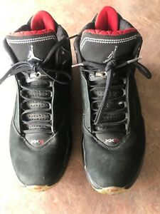 wholesale dealer 59531 eced3 Image is loading NIKE-AIR-JORDAN-XX2-22-BLACK-VARSITY-RED-