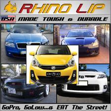 Perodua Kancil Ceria Mira Cuore Domino Gti Rubber Chin Spoiler Splitter Rhinolip Fits Saturn Aura