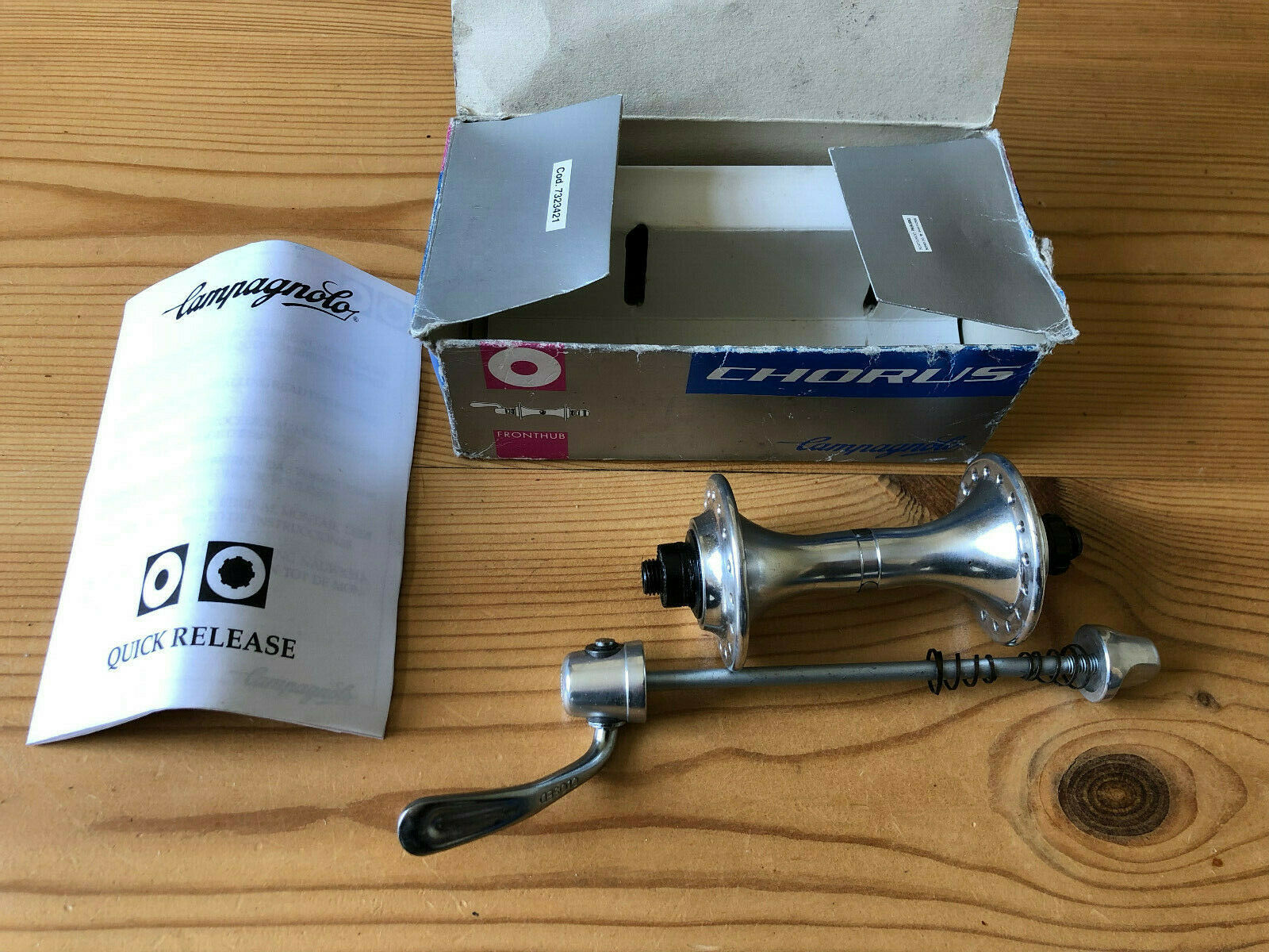 NOS  Campagnolo Chorus Front Hub Only, 36h New Unused,1997, New In Box  shop makes buying and selling