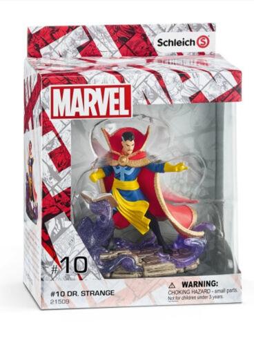 Strange New in Box Marvel Figurines Dr Schleich Plastic Figure 21509