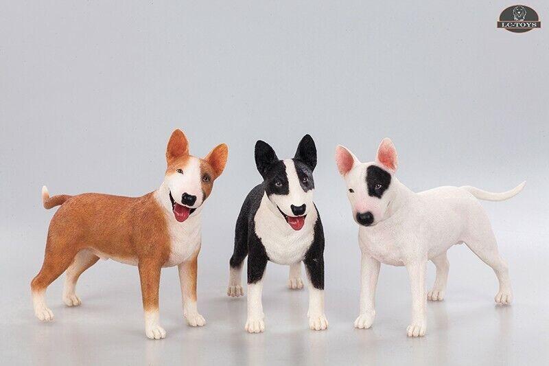 LC giocattoli LC1001-1003  1 6 Bull Terrier modellololo Animal Dog cifra Collectible Pet giocattolo  ti aspetto