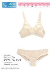 Azone 50 Simple Under Wear Set Beige Obitsu 48/50cm body MDD MSD 1/4 BJD
