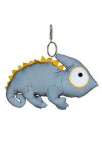 Limited Edition Reflective toy 3M material reflective kids toy hanger Chameleon