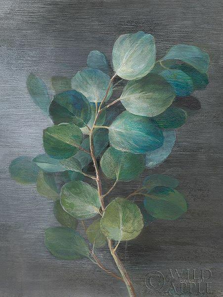 Danhui Nai  Fresh I Keilrahmen-Bild Leinwand Blätter Zweig Botanik grün modern