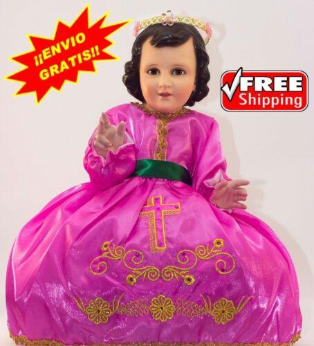 Vestido Nino Dios Ropa Nino Dios,Baby Jesus clothing BAUTIZO Divino Nino