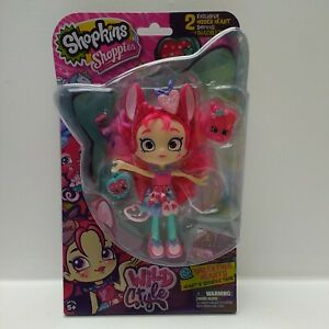 Shopkins-Shoppies-Valentina-Hearts-Doll-Wild-Style-56830-Brand-New-amp-Sealed