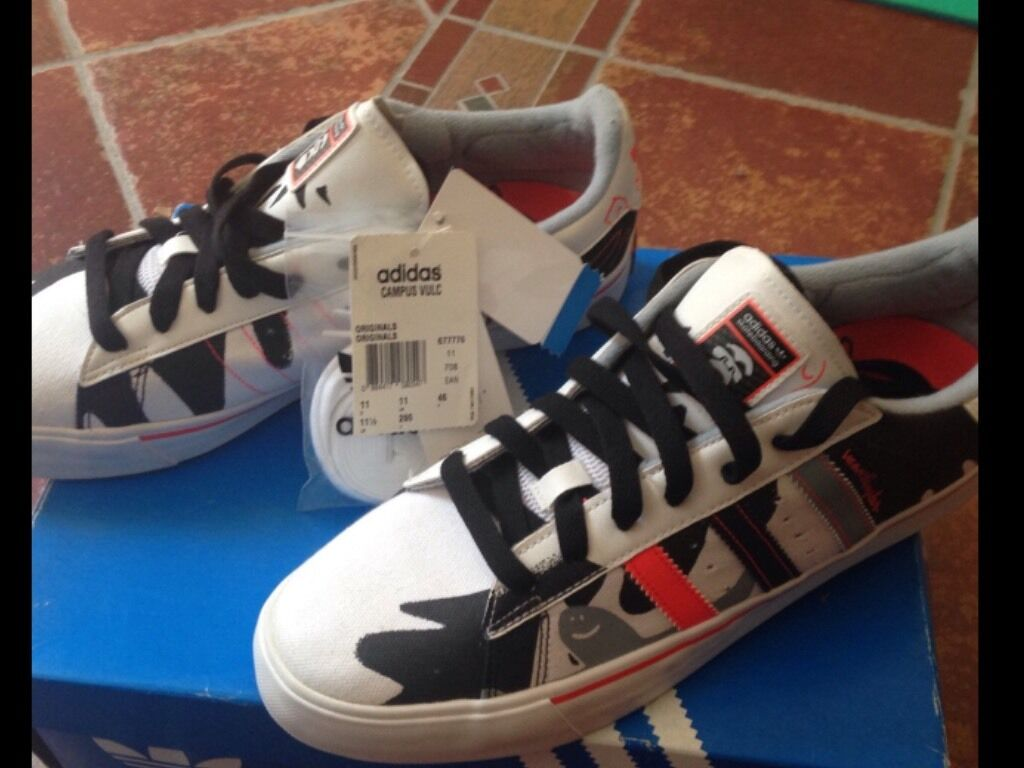 Adidas chaussures Limited Edition Firmate Marc Gonzales, Num 46. Nuove Con Scatola