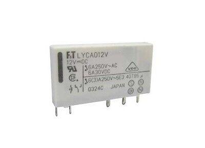 Relè relay di potenza 12V 12Vcc 5A circuito stampato 1 scambio 12Vdc JV12SKT