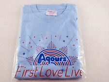 Love Live! Aqours First Love Live T-Shirt Free Size Step Zero to One! JP Import