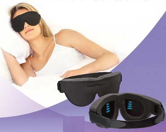 NEW Sound Oasis Sleeping Glo To Sleep Therapy Mask Natural Insomnia Relief