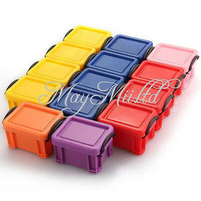 Affordable Practical Storage Box Case Container Organizer Plastic Mini Lid Y @