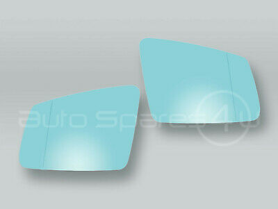 Heated Door Mirror Glass and Backing Plate PAIR fits 1998-2002 MB CLK W208