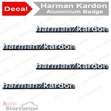4 x Harman Kardon Badge Emblem HIFI Speaker BMW Mini Mercedes Subaru Jeep Volvo