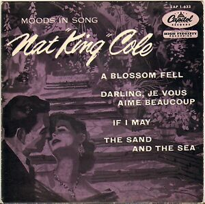 NAT-KING-COLE-4-KNIGHTS-034-MOODS-IN-SONG-034-POP-VOCAL-JAZZ-50-039-S-EP-CAPITOL-1-633