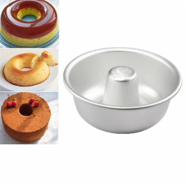 "Anodized Aluminum Round Cheesecake Baking Pan Chiffon Cake Mold 2/""~10/"""