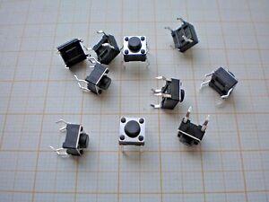 S31-10-Stk-Mini-Taster-Kurzhubtaster-Mikrotaster-Eingabetaster-6x6x5mm-12V