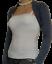 Womens Bolero Shrug Cardigan Ladies Long Sleeve Top Size 8 10 12 14