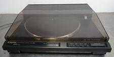 vintage hifi turntable - Plattenspieler Pioneer PL-550 tangential record player