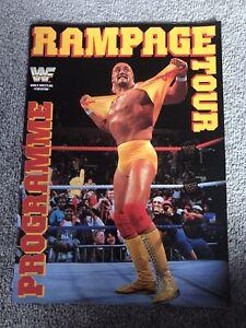 WWF-WWE-HULK-HOGAN-EUROPEAN-RAMPAGE-1991-TOUR-BOOK-PROGRAMME