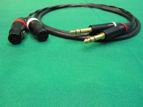 """Canare MR202-2AT 2 Channel  Studio Snake Cable 3 Ft. XLR-F to 1//4/"""" TRS-M"""
