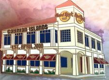 Hard Rock Cafe CAYMAN ISLANDS 2003 Building Facade of Cafe PIN - HRC #21229