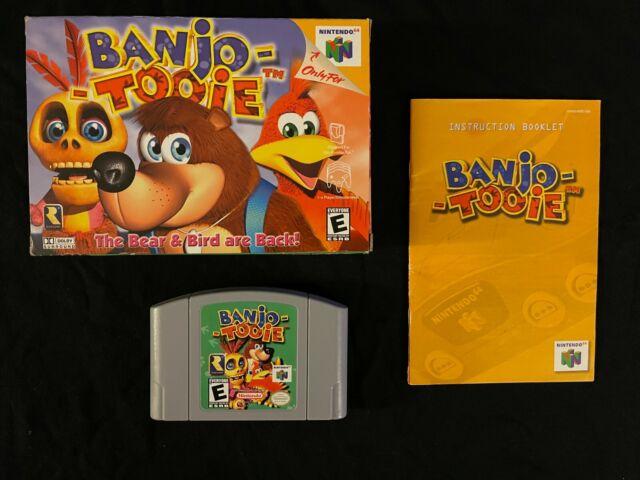 Banjo-Tooie (Nintendo 64, 2000) Box Manual Complete CIB N64