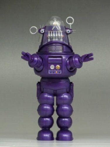 2013 Sdcc X-Plus Forbidden Planet Robby il Robot  Viola Pressofuso Statuetta  negozio di vendita outlet