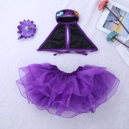 Girl Dance Costume Kid Sequins Modern Jazz Ballet Dress Ballroom Tutu Dancewear