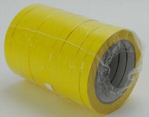 0-00-1m-144x-Klebeband-12mm-x-66m-PVC131-gelb-12x66m-Packband-Kleberolle-Pa
