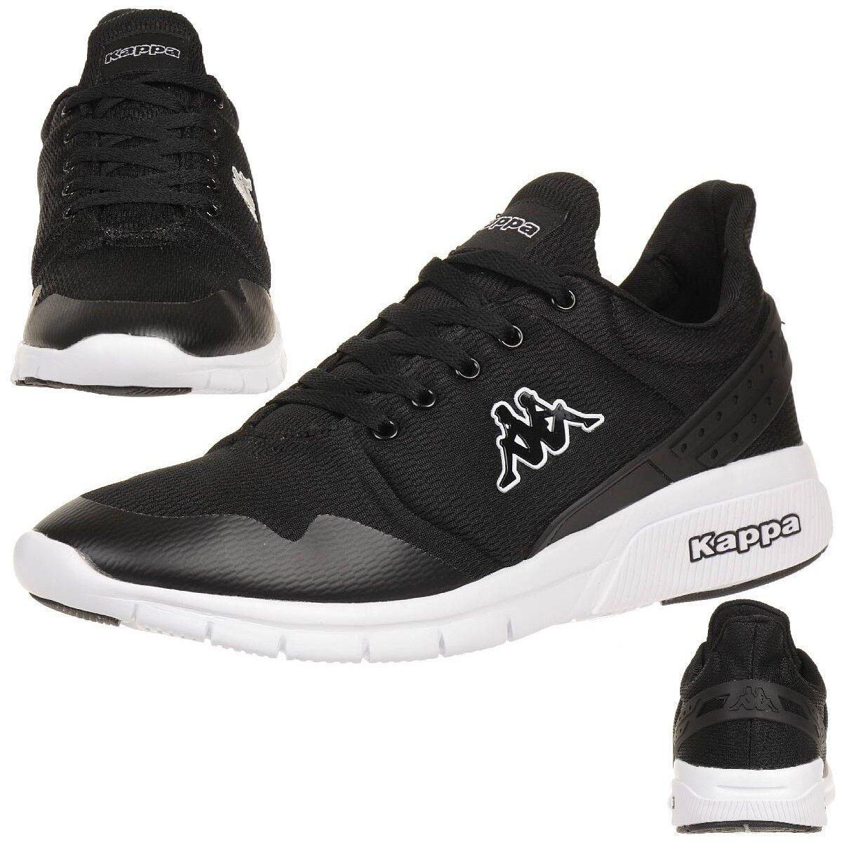 Kappa New Noir York Sneaker Unisexe Baskets Chaussures Noir New 91b3f6