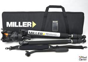 Miller CompassX CX8 + Solo 75 sticks Professional Video Tripod nr Mint! incVAT