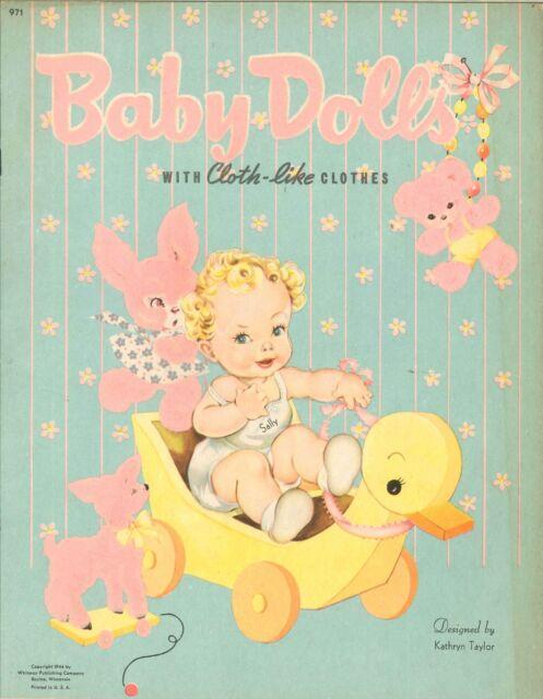 VINTGE UNCUT BABY BRO SISTER PAPER DOLL HD LASER REPRODUCTION~LO PRICE~HI QUAL