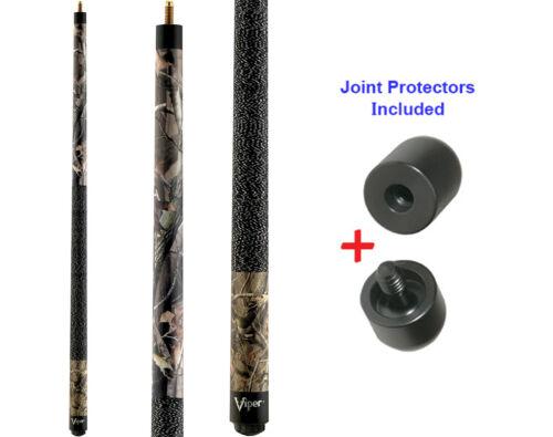 Viper JR/'s 50-0400 Realtree Hardwoods JR Pool Cue Stick 16 oz /& Joint Protectors