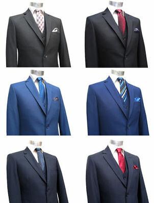 Herren Anzug Slim Fit 2 Rückenschlitze Muga*776* | eBay